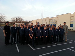 Public Safety Academy Cadet Honor Guard Training