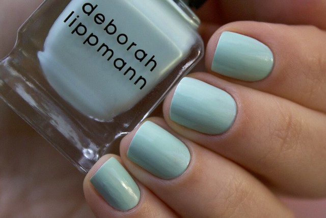 02 Deborah Lippmann Flowers In Her Hair swatches