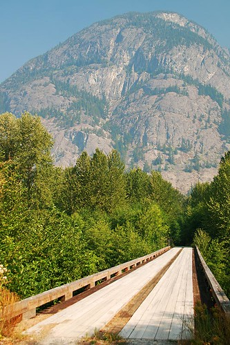 Bridge from McCall Flats,Tweedsmuir South Provincial Park, Chilcotin, British Columbia, Canada