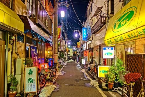 Shitamachi street