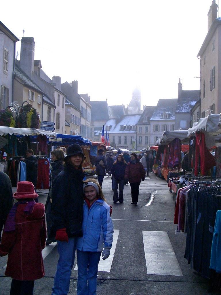 Beaune Saturday market