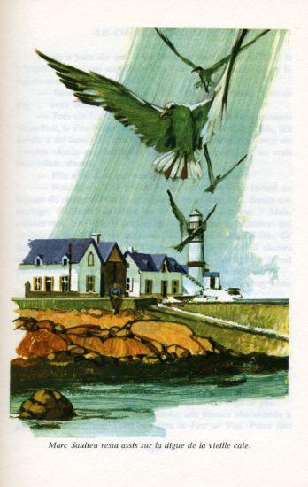 Le château d'algues, by SAINT-MARCOUX