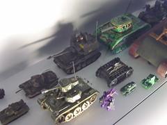 További játék tankok.