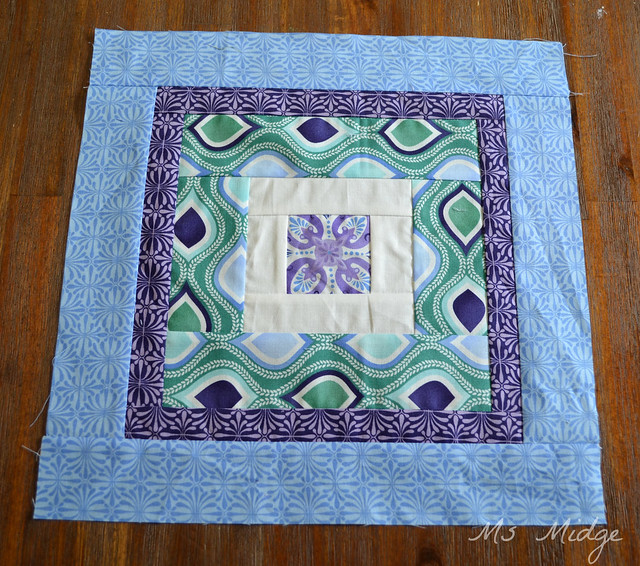 March Aurifil Designer of the month block