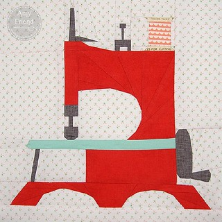 @whynotsewquilts here is your Little Lady sewing machine.  I hope you like it! #cocoricobee