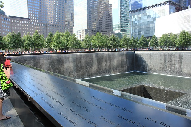 Picture of New York's 9/11 memorial