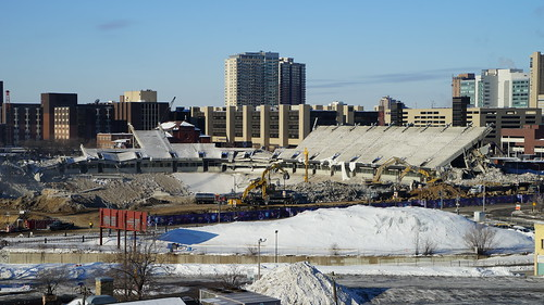 Vikings Stadium Construction - Week 16 - Minneapolis ...