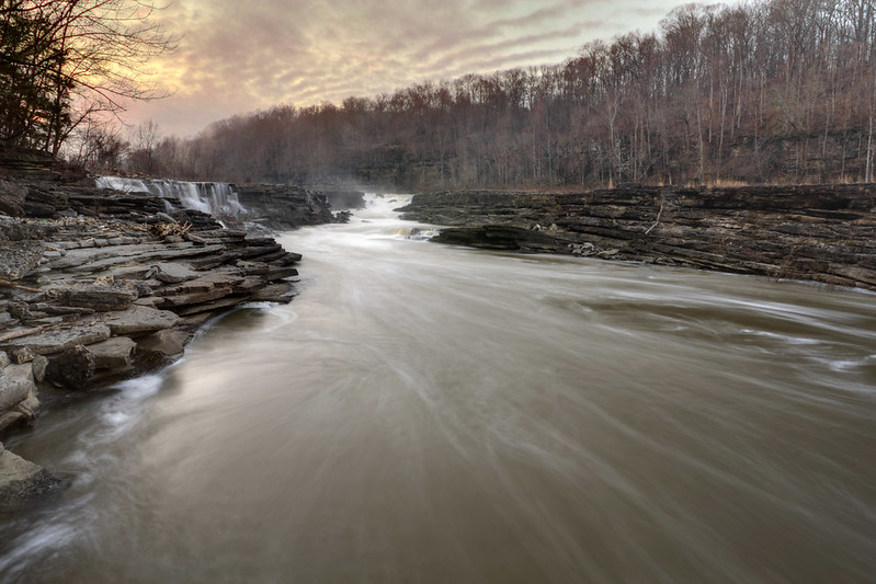 Caney Fork River, Rock Island State Park, White and Warren County, Tennessee