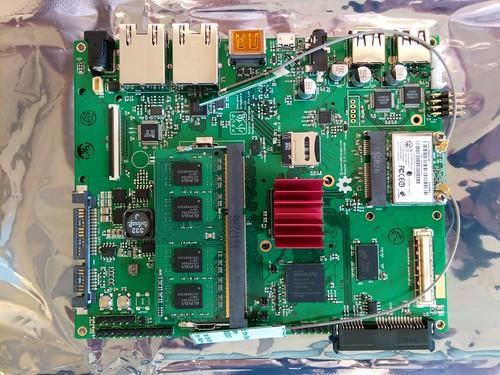 Novena PVT1-D motherboard