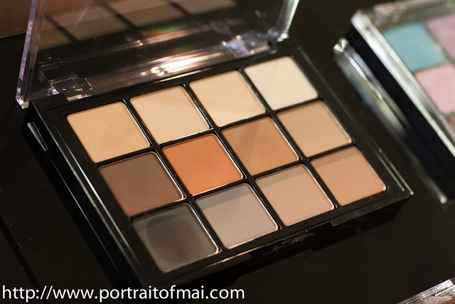 viseart matte eyeshadow palette