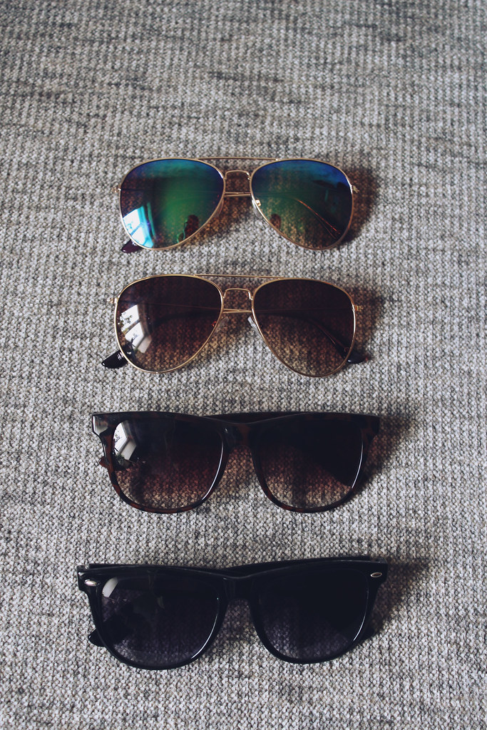 ray ban sunglasses, reflector aviator sunglasses