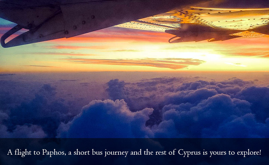 Flights to / from Pafos, Cyprus