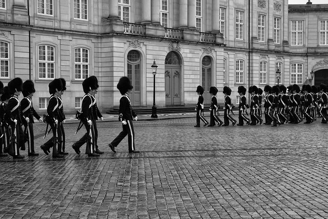 Changing of the Guards - Copenhagen