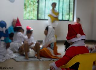Navidad 2013 con los niños :)