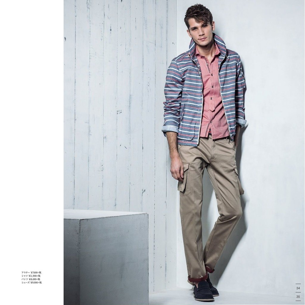 Andrey Zakharov0012_m.f.editorial Men's Spring Collection 2014