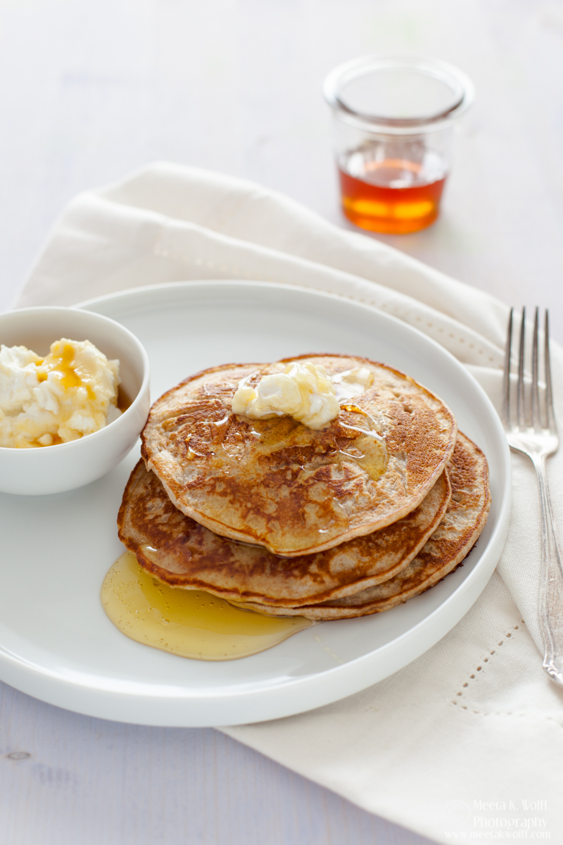 Ricotta Honey Pancakes 0009