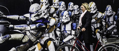 Woman with Bike, Clone Wars