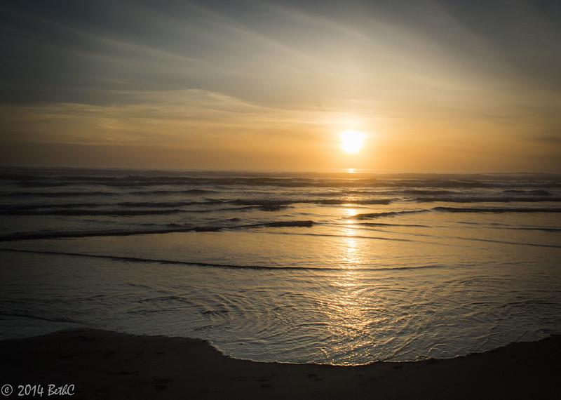 134-365 Dreamy May Sunset
