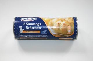 01 - Zutat Sonntagbrötchen (Brötchenteig) / Ingredient bun dough