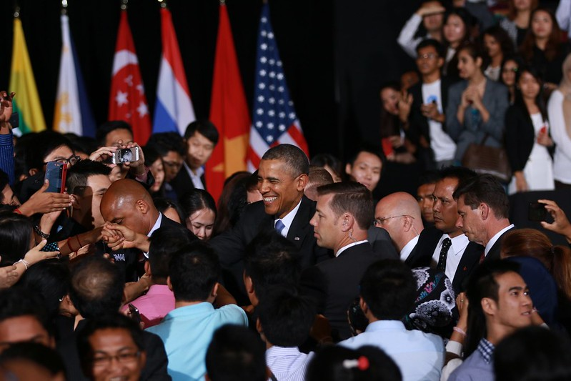 President Obama Delivers Remarks at a Young Southeast Asian Leaders Initiative Town Hall