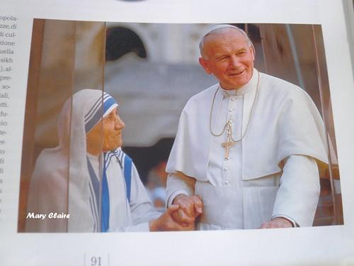papa e madre teresa