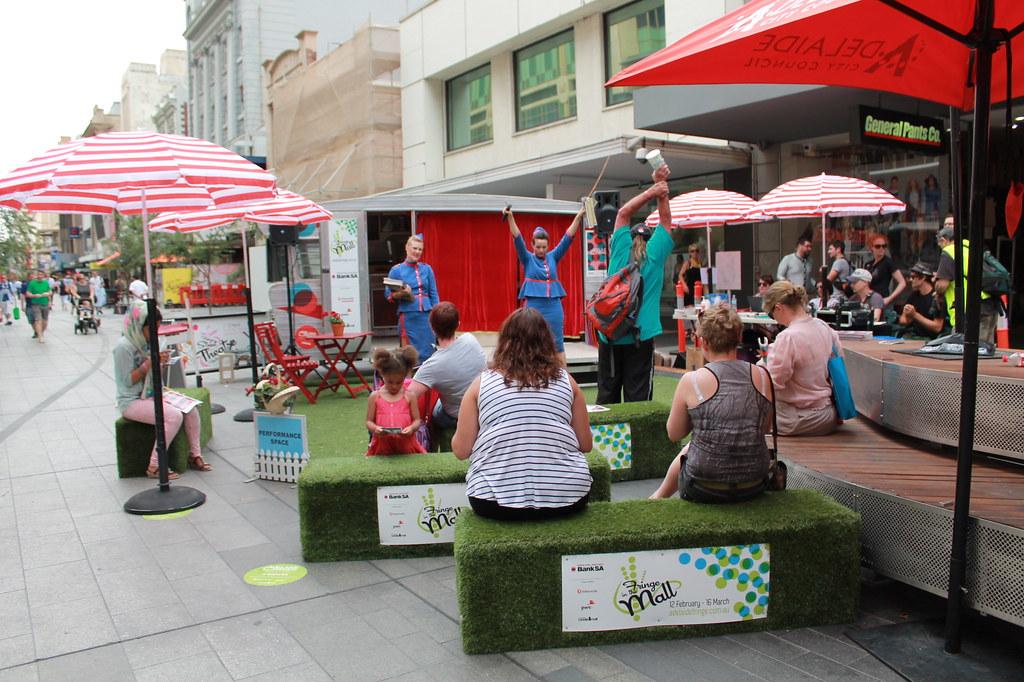 Rundle street Adelaide Fringe - www.fraintesa.it