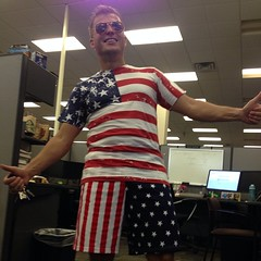 My coworker Alek became an American citizen today.
