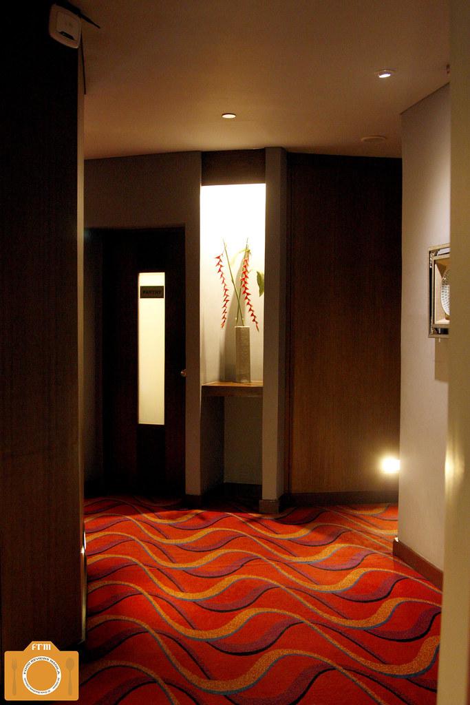 Azurea Spa hallway