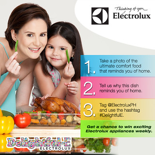 Electrolux DelightfulE Twitter and Instagram Contest