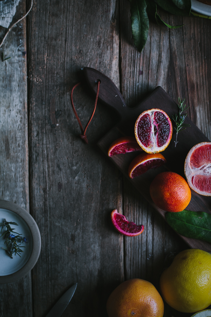Winter Citrus Upside Down Cake by Eva Kosmas Flores | Adventures in Cooking