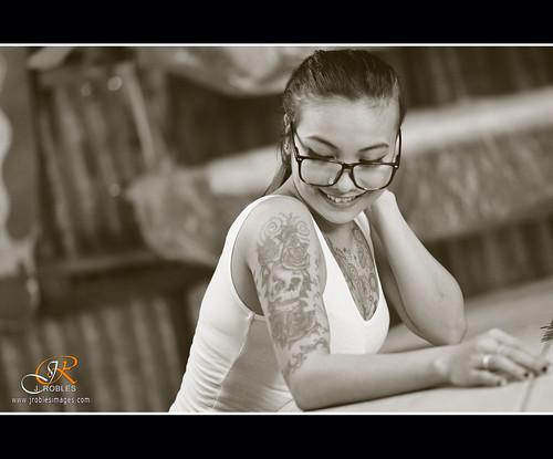 Portrait │ Garage Session with Meg !