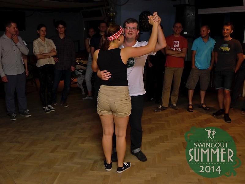 Paweł i Dominika - taster Collegiate Shag na Swingout Summer 2014