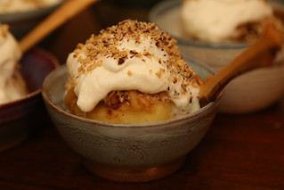 Tufahije - traditional Bosnian desert with baked apples