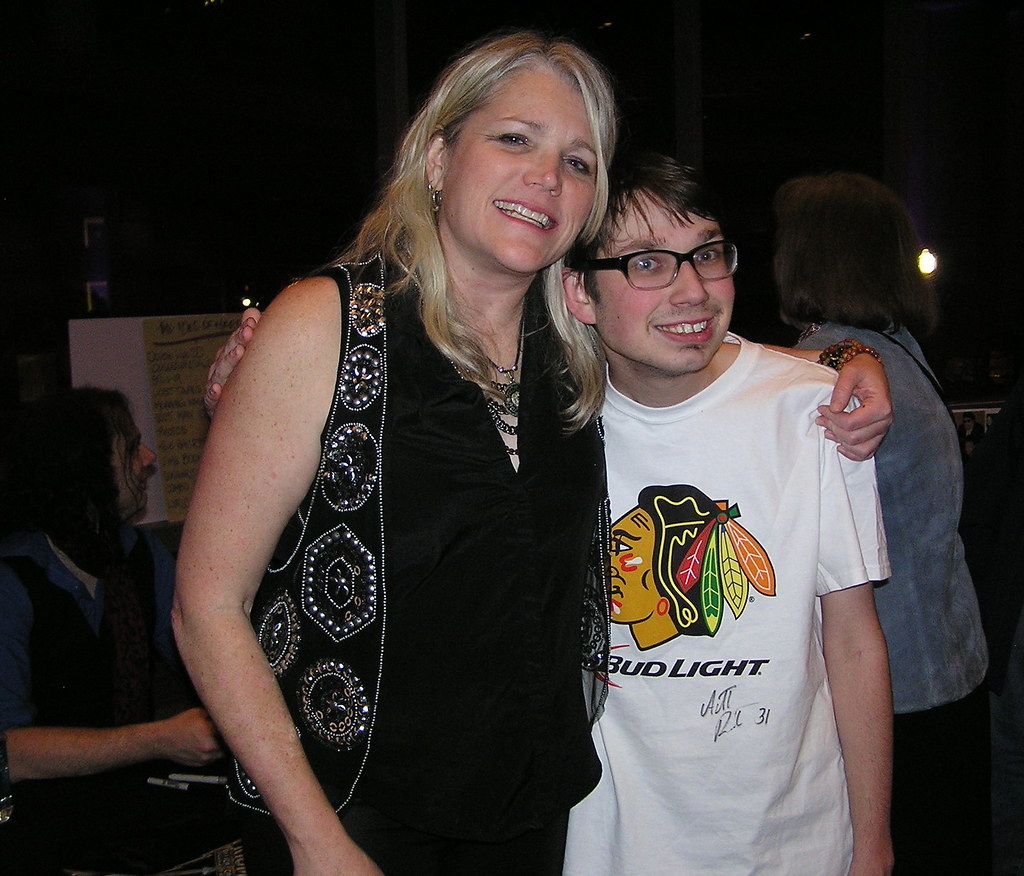 With Cathy Richardson of Jefferson Starship
