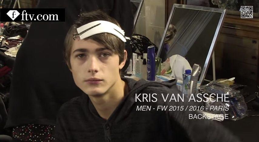 Paul Fontanier3038_FW15 Paris Kris Van Assche(youtube.com)