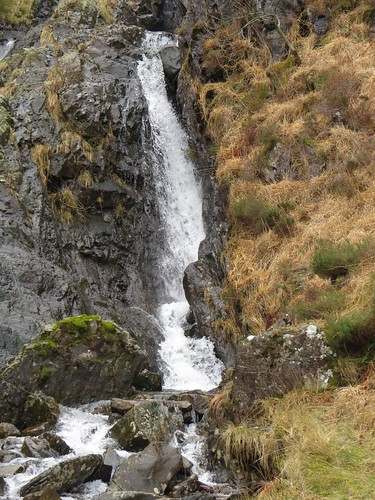 508 waterfall in Nant Ffrancon