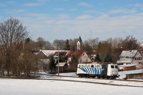 139 312 tankt nach ihrem Ausflug nach Altomünster in Bachern etwas Sonne