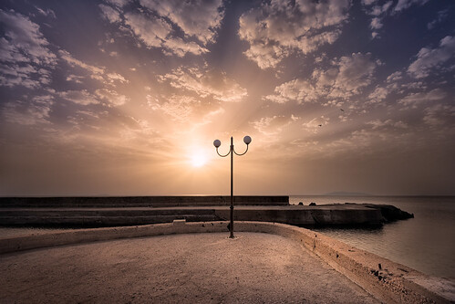 sunrise santorini greece thira fishingharbour egeo leefilters vourvoulos nikond800 lee06gndhard phottixgeoone nikkor160350mmf40