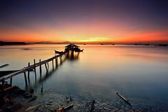 : Sunrise at Fisherman Jetty :