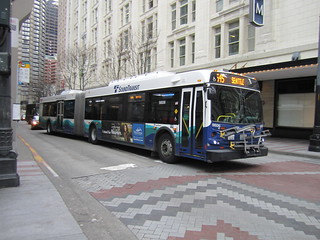 ST Express 9806-K in Downtown Seattle