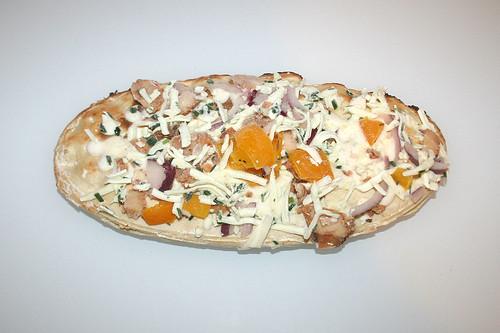 04 - Wagner Rustipani Hähnchenbrust auf Frischkäse-Creme / Chicken breast on cream cheese - Rohling gefroren / Frozen