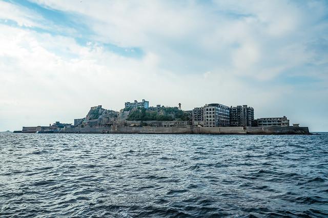 軍艦島(端島) Gunkanjima - Battleship Island(Hashima Island)