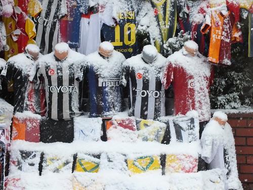 Megjött a tél Isztambulba