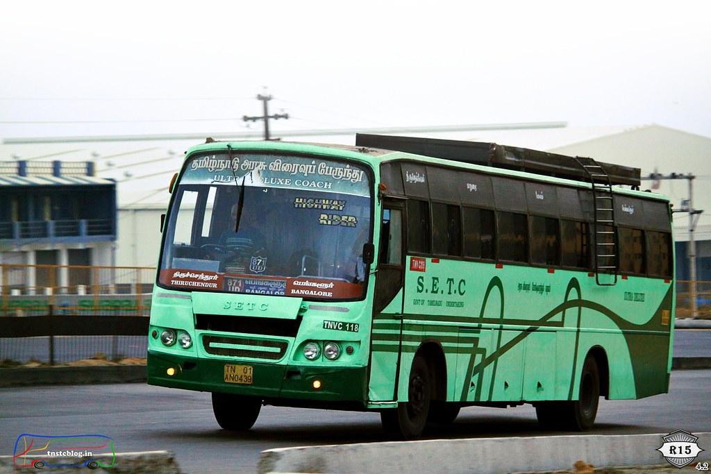 SETC Thiruchendur - Bengaluru