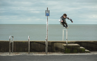 Harry Abel - 180 to Fakie Stair Bash