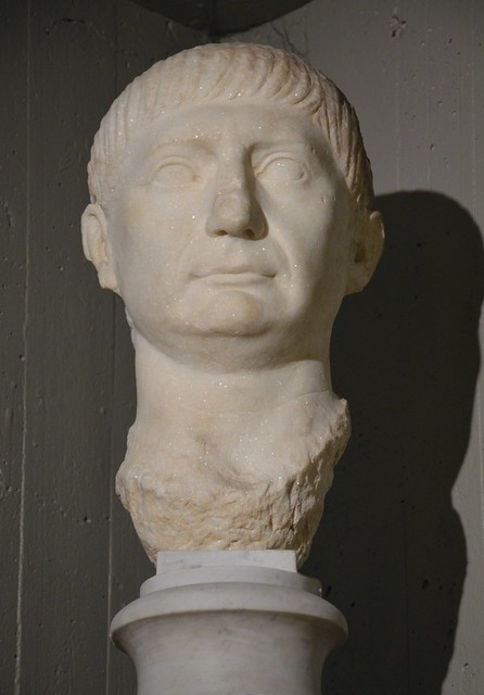 Marble bust of Trajan, from Olbia, Cagliari, Museo Archeologico Nazionale