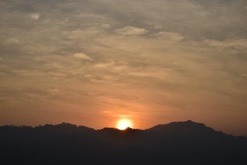 light sky cloud sun clouds sunrise skyscape dawn nikon taiwan taichung dslr d5300