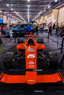 2015 Philadelphia Auto Show - Mazda Formula 1