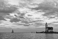 Sailboat passing by