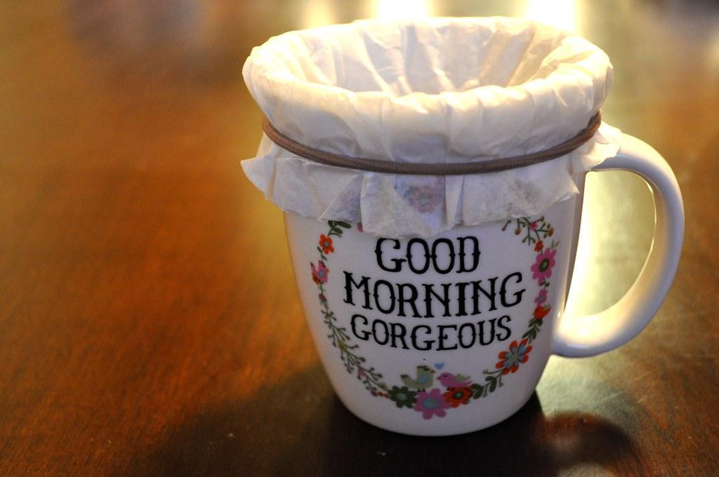 Coffee Filter Tea